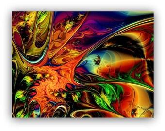 SPLASH Art Print - ships free