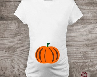 Halloween Maternity shirt, Pumpkin t-shirt Mommy to be tShirt Baby Shower gift shirt Pregnancy announcement, Mommy and me tshirt