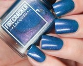 Teal The End of Time, a collaboration with Cosmetic Sanctuary for The Color Box - 15mL Hand Blended Nail Lacquer