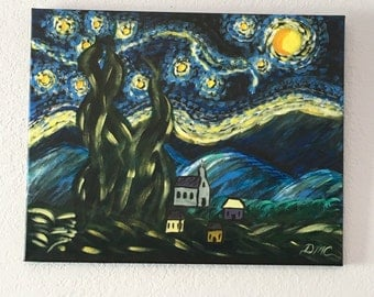 Starry Nights inspired by Van Gogh