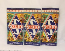 x3 Skelly auto Maps in GREAT Condition!