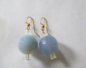 Vintage Glass Blue Balls