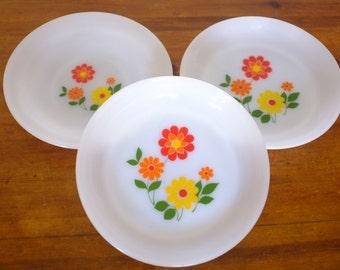 Plates seventies