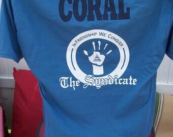 Custom Syndicate Logo shirt