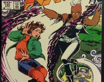 Uncanny X-Men #180 (1984) Comic Book