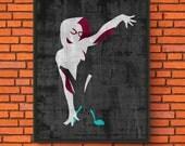 Minimalism Art - Spider-G...