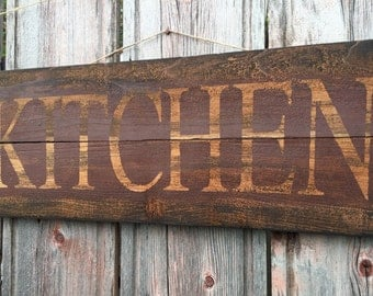"""Shop """"wooden signs"""" in Kitchen & Dining"""