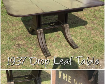 Unfinished & Antique Tables ready to be Chic'd - Set A