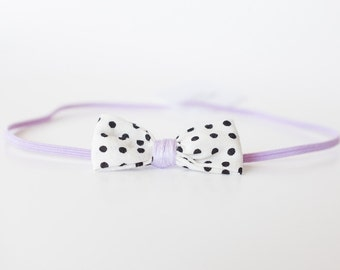 Baby Headband/Newborn Headband/Boho/Baby girl/Lavender/Boho style/Baby girl clothes/Bow/Headband/Baby bows/Baby shower gift/Headbands
