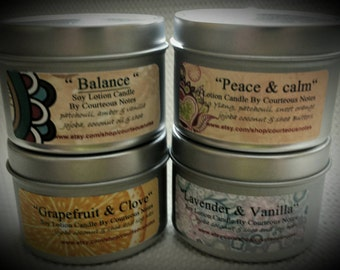 Lotion Candle Soy