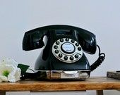 Vintage '70's Retro Home Landline Telephone Push Button Dial