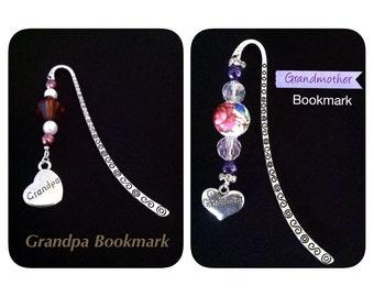 Grandpa (or) Grandmother Bookmark