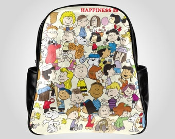 Snoopy Multi-pocket Backpack Large