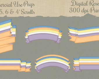 30 Scroll Png File Commercial Use