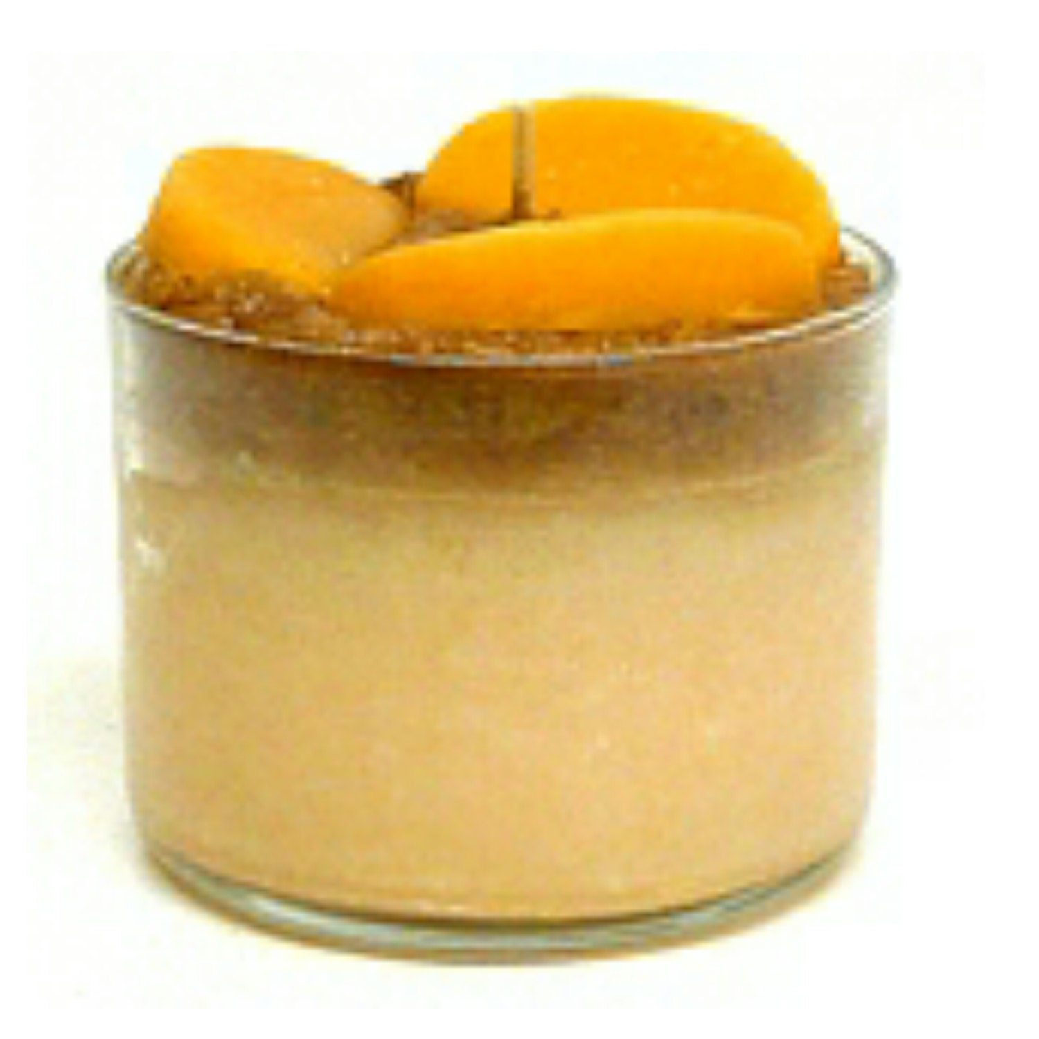 Peach Parfait Candle Food Candles Scented by AgathasGiftShop