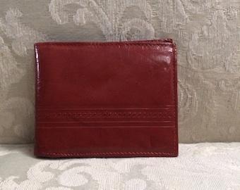 Vintage Men's Wallet, Leather Wallets, Men's Leather Wallet, Brown Leather Wallet, Men's Wallets, Vintage Wallets, Rust Wallet