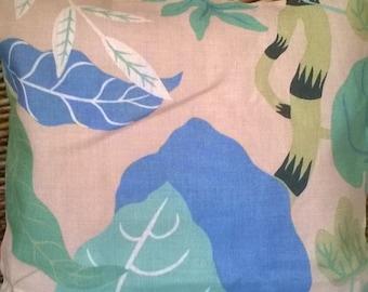big Leaf linen cushion cover 16 inch
