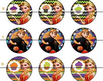 Halloween Bottle cap Images (Boy,s Gilr's, Adults)