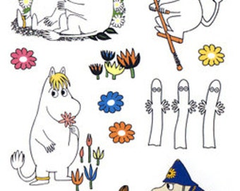 Moomin Tattoo Stickers from Finland