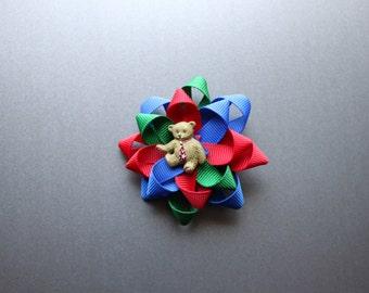 Paddington themed bow