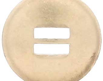 "Slotted Concho Brass Smooth  1-1/2"" 1350-06"