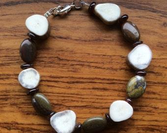 Deer Antler Bracelet Made in Montana