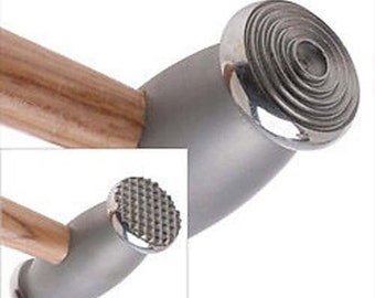 2 Sided Metal Texturing Hammer Thin Circles / Speckles Metalsmith Silversmith Hobby Jewelry Tool (Free Shipping USA)
