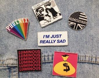 Phoenix, Sonic Youth, Drowners, Teenage Fanclub, The Horrors, I