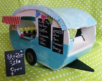 Caravan Miniature Model