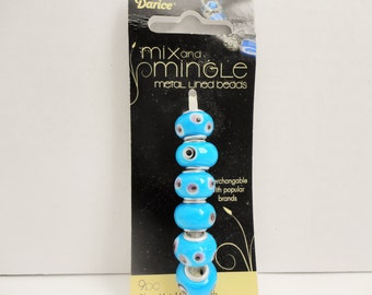 Mix n' Mingle Metal Lined Beads