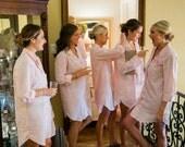 Bridesmaid shirts satin / Wedding shirts for Bridesmaids / Bridesmaid shirts silk / bridesmaid gift / monogram shirts /oversized shirt