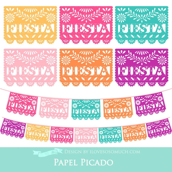 papel picado clipart - photo #13