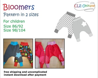 Bloomers, size 86/92 and 98/104