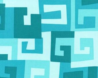 Michael Miller Fabrics - Maze in Turquoise 727