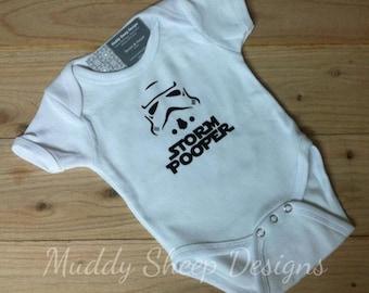 Storm Pooper Baby One Piece
