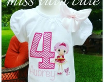 LalaLoopsy Jewl Sparkle shirt only 3 6 9 12 18 24 months long or short sleeve 2t, 3t, 4t, 5t, 6/6x, 7/8, 10/12