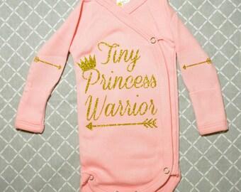 Sweet Preemie Pink Bodysuit