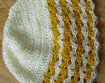 Instant Download - PDF-  Lovely DK Beanie Style Hat Crochet Pattern (CA4)