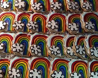 Over the Rainbow Cookies!