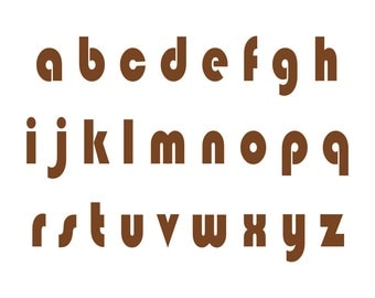 Alphabet Stencil - A to Z  Small to Large Reusable For Signs,     Fabric, Large Wall Art, Indoor , Outdoor, Weddings, Businesses