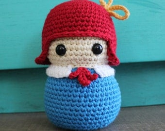 The French Student Crochet Pattern - Madeline Inspired
