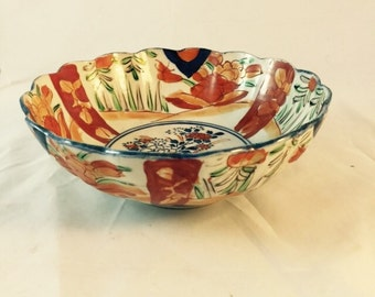 Japanese Imari Bowl Circa 1900