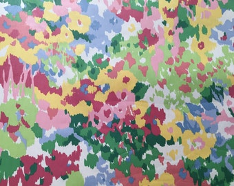 Schmacher - First Impressions - Cotton Floral - Polished Cotton - Upholstery Fabric by the Yard