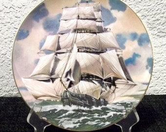 The Lightning Great American Sailing Ships Collector's Plate
