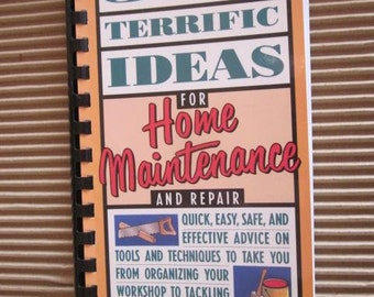500 Terrific Ideas For HOME MAINTENANCE And Repair Jack Maguire Vintage Home and Garden DIY
