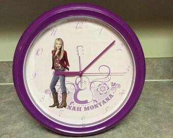 Hannah Montana Quartz Wall Clock .