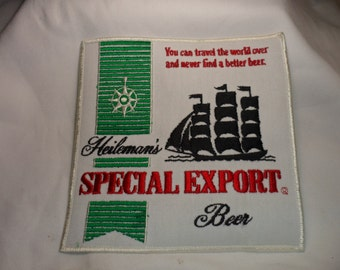 Large Heileman's Special Export Beer patch