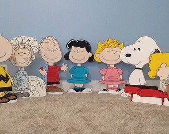 1 ONE 2ft Charlie Brown cutout/standee/prop. (any charlie brown character)