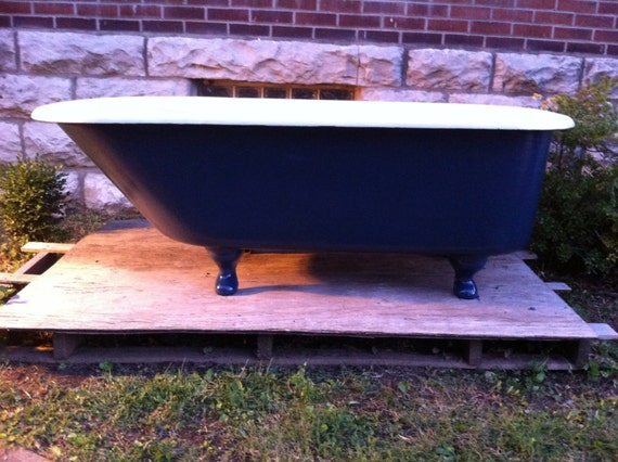 Antique Early Gentlemen 39 S Wolff Clawfoot Tub By Almasfarmhouse