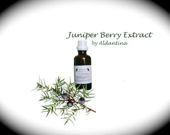 Organic Juniper Berry Herbal Tincture/Extract - alcohol free - >50ml<